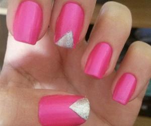 nails, neon, and neon nails image