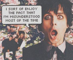 bands, flowers, and green day image