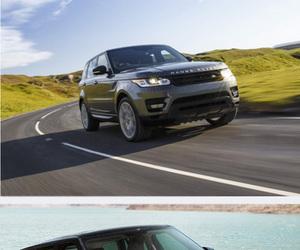 SUV, audi q7, and range rover sport image