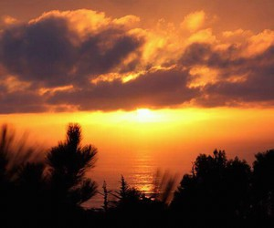 atardecer, summer, and chile image