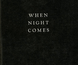 night, quotes, and dark image