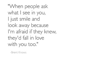 fall in love, love quotes, and smile image