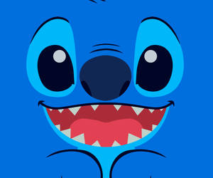 Stitch Blue And Wallpaper Image