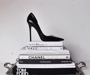 fashion, book, and chanel image