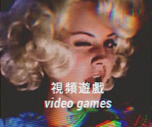 lana del rey, video games, and ldr image