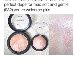 dupe, elf, and makeup image