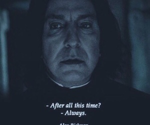 always, harry potter, and alan rickman image