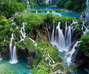 nature, photgraphy, and waterfalls image
