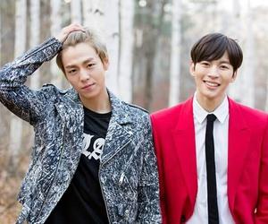 lee hyun woo, vixx, and kpop image
