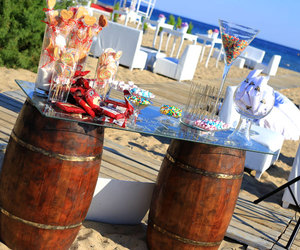 beach, candy, and decoration image