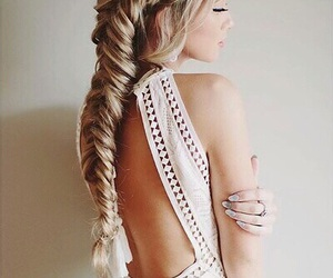 beautiful, girl, and stylé image