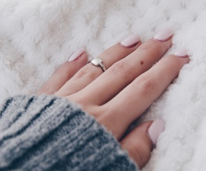 fall, fashion, and nail image