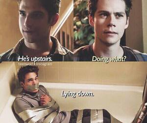 teen wolf, scott mccall, and liam image