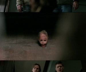 baby, creepy, and dean winchester image