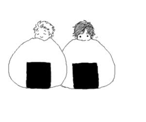 onigiri, anime, and manga image