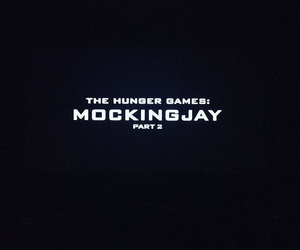 the hunger games, mockingjay, and part 2 image