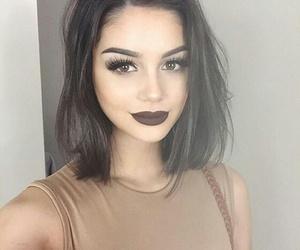 beautiful, black, and girl image
