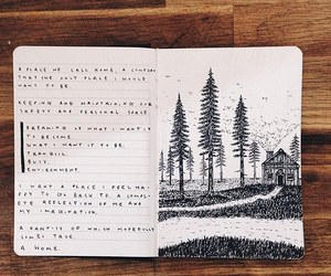 daily, diary, and journaling image