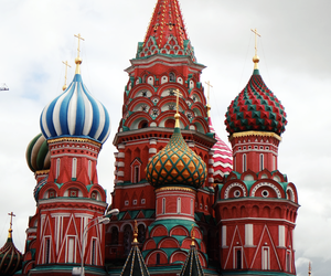 moscow, red, and Red Square image
