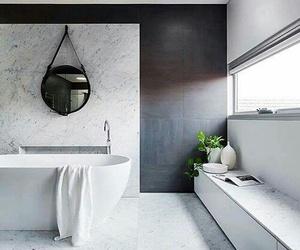 apartment, bathroom, and decor image