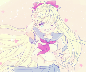 cute and sailor moon image