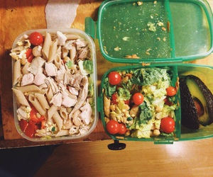 avocado, Chicken, and fitness image