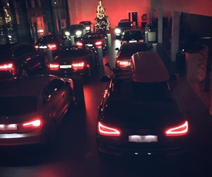 audi, cars, and night image