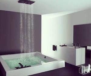 bathroom, shower, and luxury image