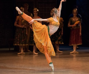 arabesque, dance, and ballet image