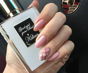 nails, pink, and kilian image