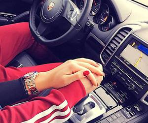 car, couple, and love image