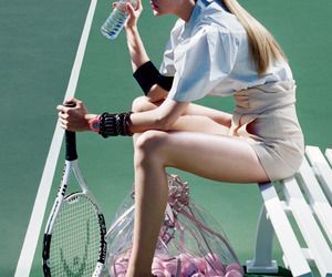 fashion and tennis image