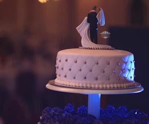bride to be, wedding, and wedding cake image