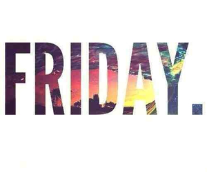 friday, weekend, and party image
