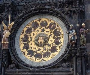 prague, astronomical clock, and cz image