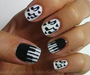 nails, music, and note image