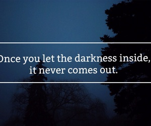 dark, Darkness, and quotes image
