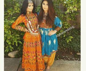 afghan, beauty, and dress image