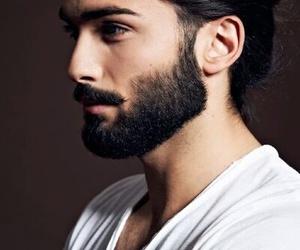 beard, man, and Hot image