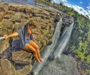 venezuela, cascada, and sabana image