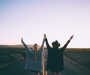 girl, friendship, and goals image