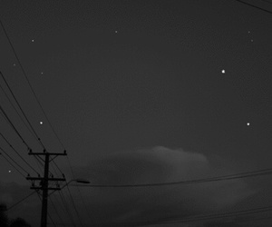 stars, night, and gif image