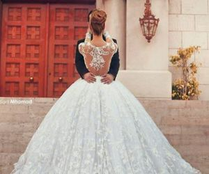 beautiful, dress, and casamiento image