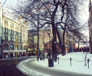 oslo, snow, and view image