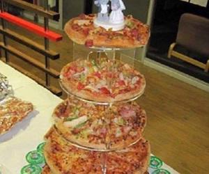 pizza, wedding, and food image