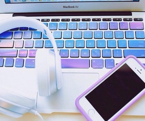 iphone, apple, and purple image