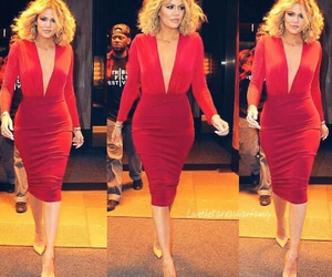 dress, fashion, and kardashian image