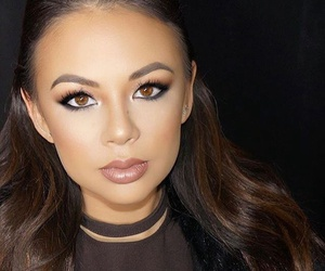 janel parrish, pll, and makeup image