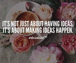 quotes, boho, and flowers image