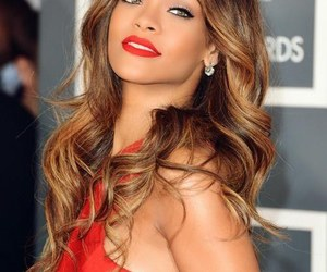 rihanna, red, and grammy image